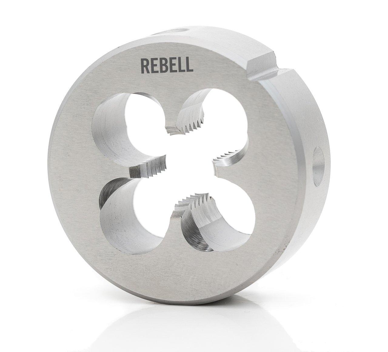REBELL Schneideisen UNC RH 2A HSS geläppt mit Schälanschnitt - EN 22568 - Typ N