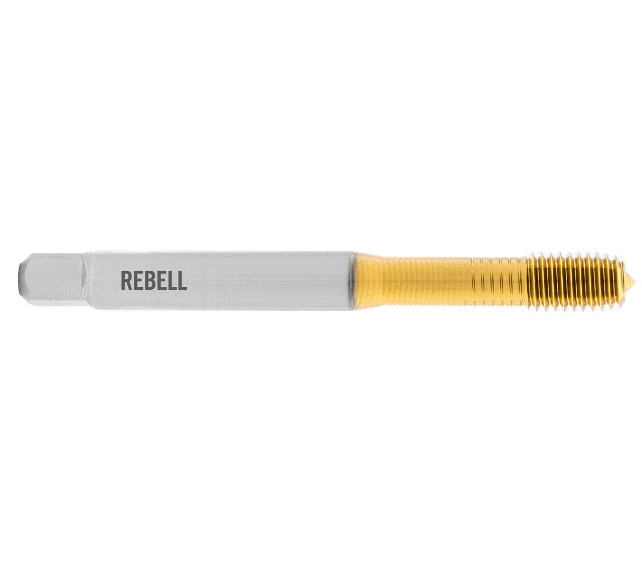 REBELL Gewindeformer UNF RH 2BX HSSE TIN - Form C ohne Schmiernuten - DIN 2174 - Typ IGF
