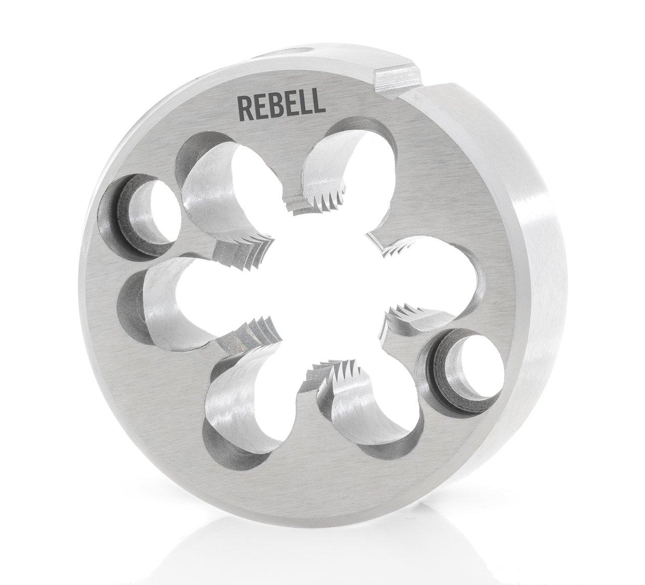 REBELL Automatenschneideisen mit Aufschraublöchern M RH 6h HSS geläppt - Werksnorm - Typ N