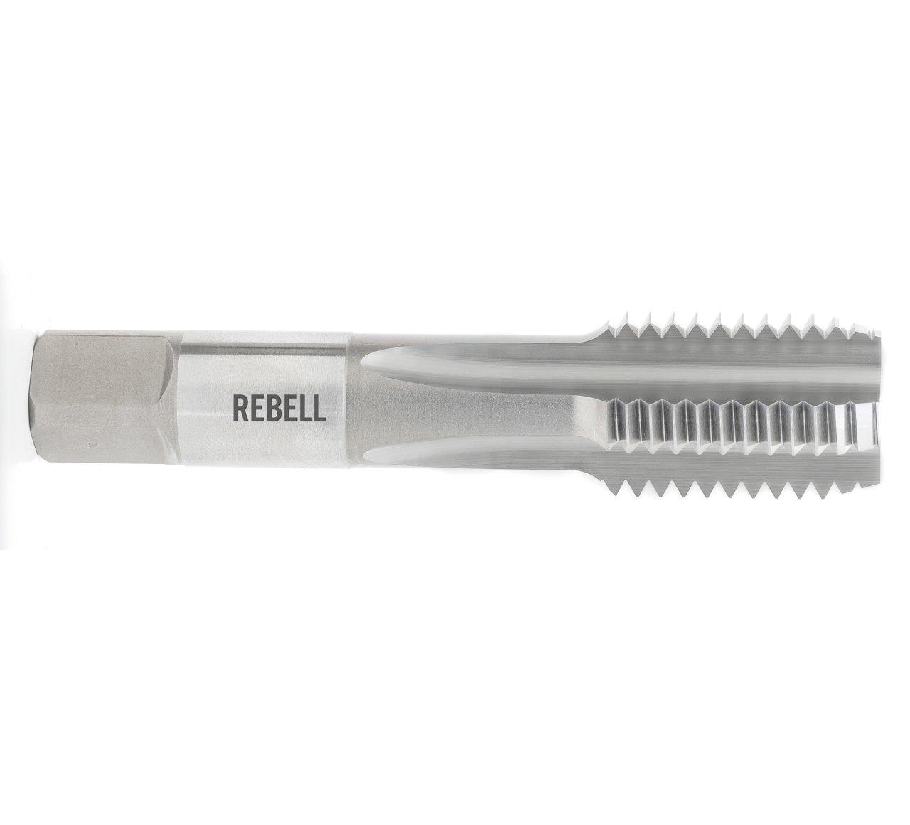 REBELL Einschnittgewindebohrer EG-BA RH medium mod. HSS - Form D gerade genutet - ISO 529 - Typ N
